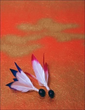 羽子板の羽