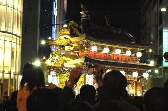 浜松祭り 御殿屋台引き回し