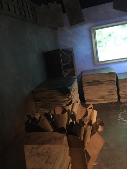 アーロンパークでナミが海図を書いていた部屋