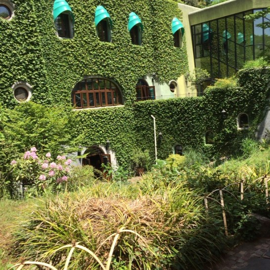 三鷹の森ジブリ美術館 外観