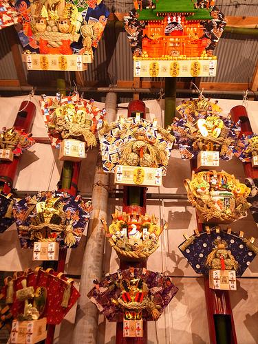 長國寺 酉の市2012 熊手