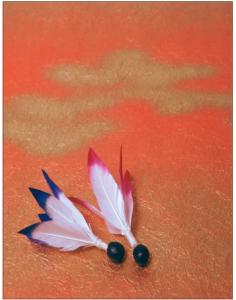 羽根突きの羽