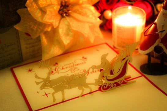 クリスマス グリーティングカード